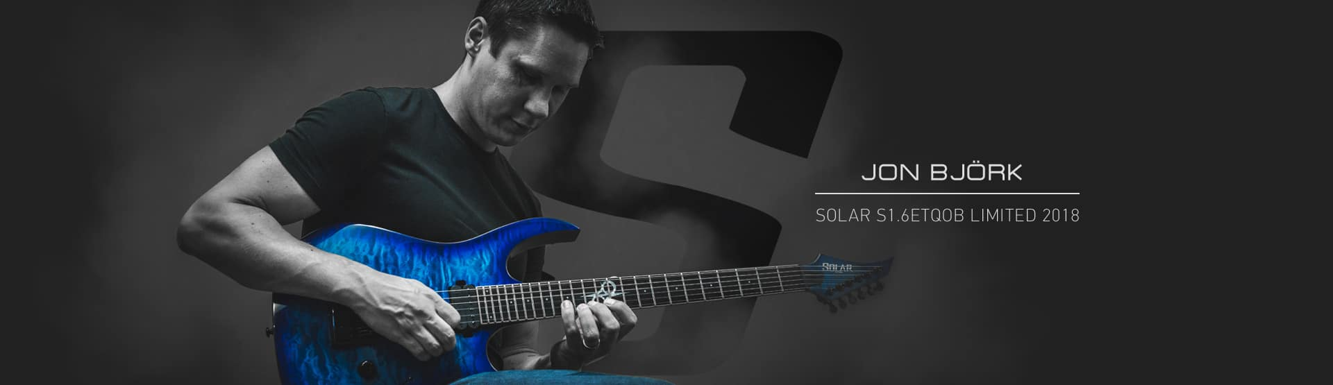 Welcome To The SOLAR GUITARS Website