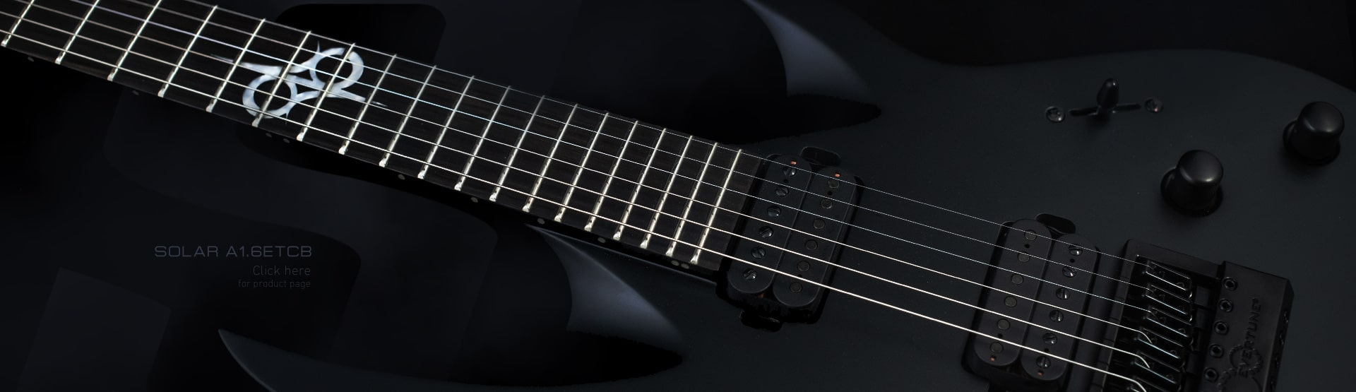 Welcome to the SOLAR GUITARS website ! on