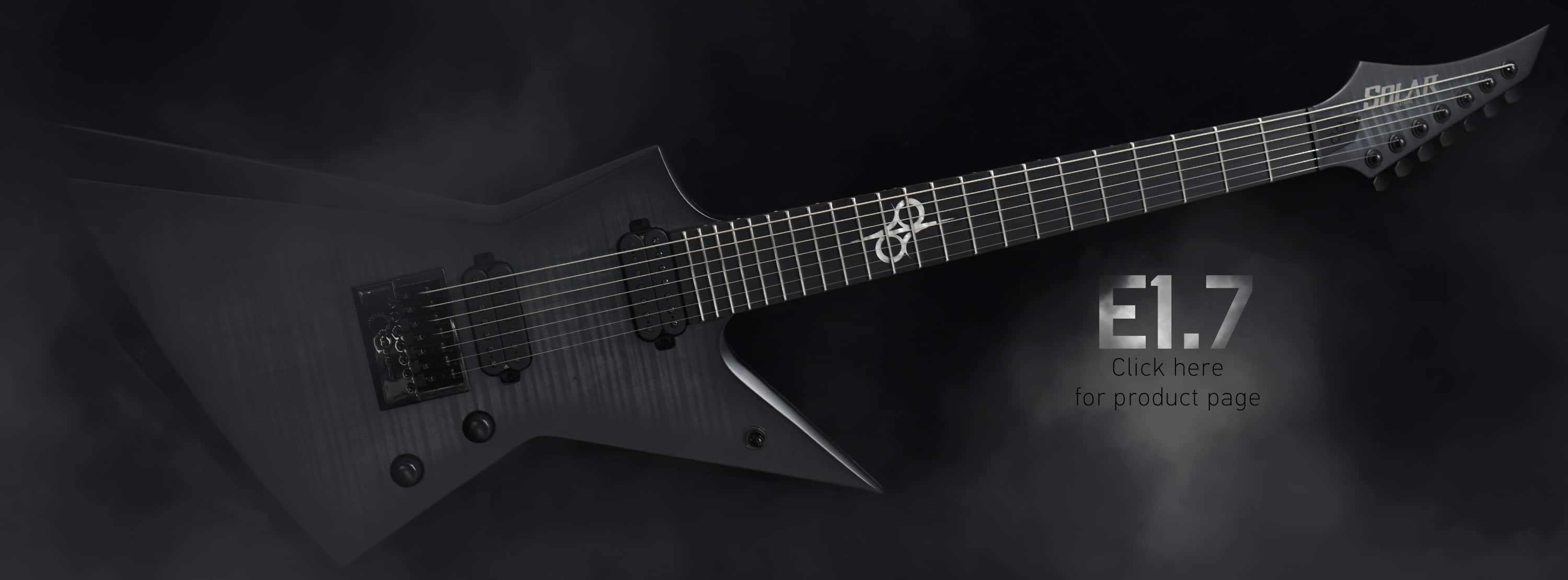 Welcome to the SOLAR GUITARS website !